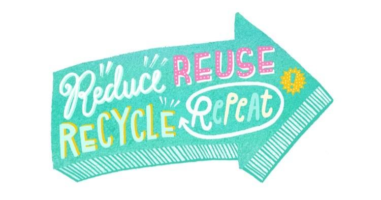 Dall'USA E GETTA all'USA E RIUSA: 5 semplici regole per muovere i primi passi verso uno stile di vita più sostenibile.