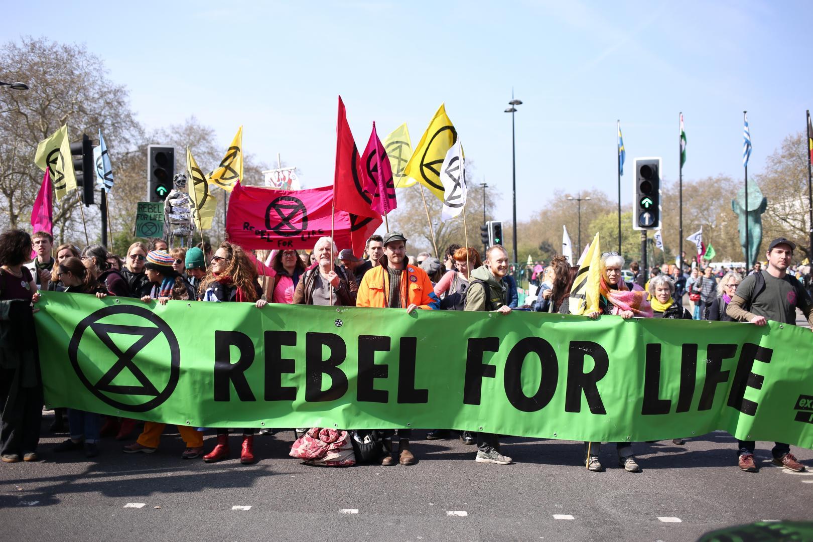 Extintion Rebellion: il valore della disobbedienza civile