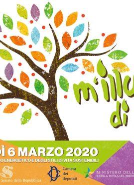 M'illumino di meno 2020, giornata per gli stili di vita sostenibili