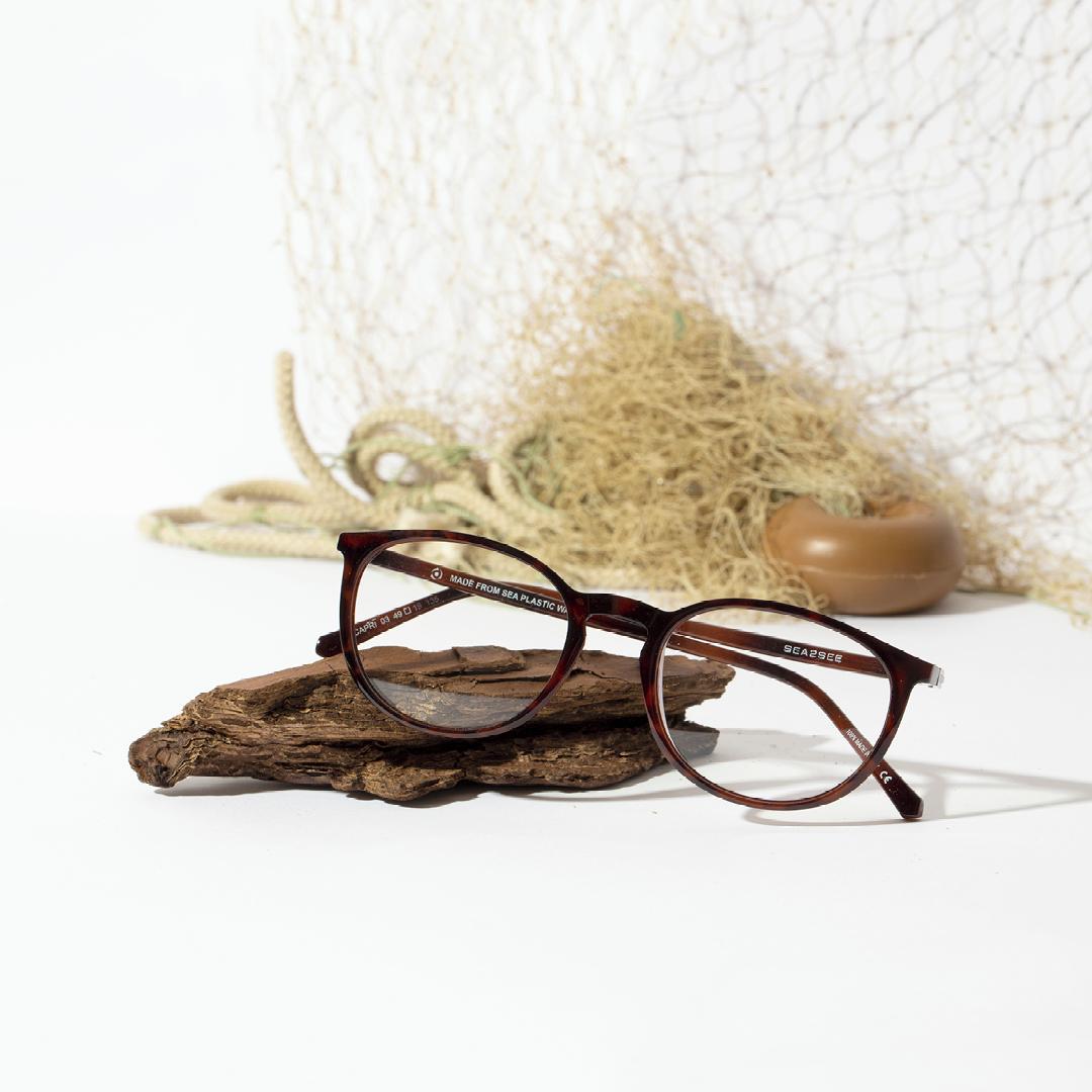 SEA2SEE: occhiali ricavati dal recupero di rifiuti in mare