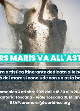 ARS MARIS, l'arte a supporto del Mare